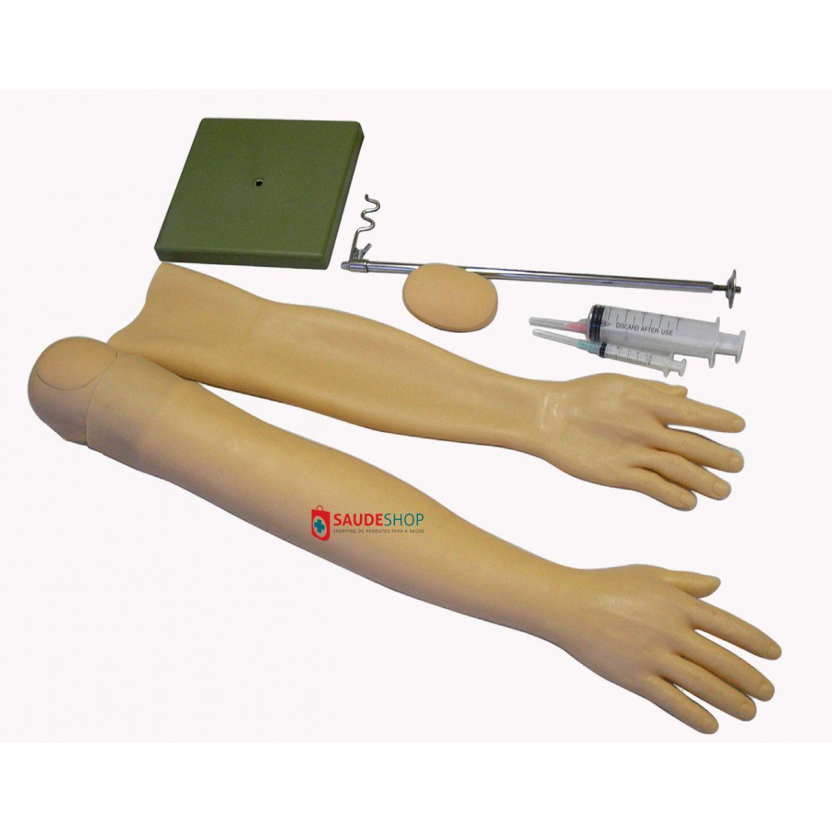 Modelo de Braço para Injeção e Punção Venosa - Mod.ES-6021 - Edutec