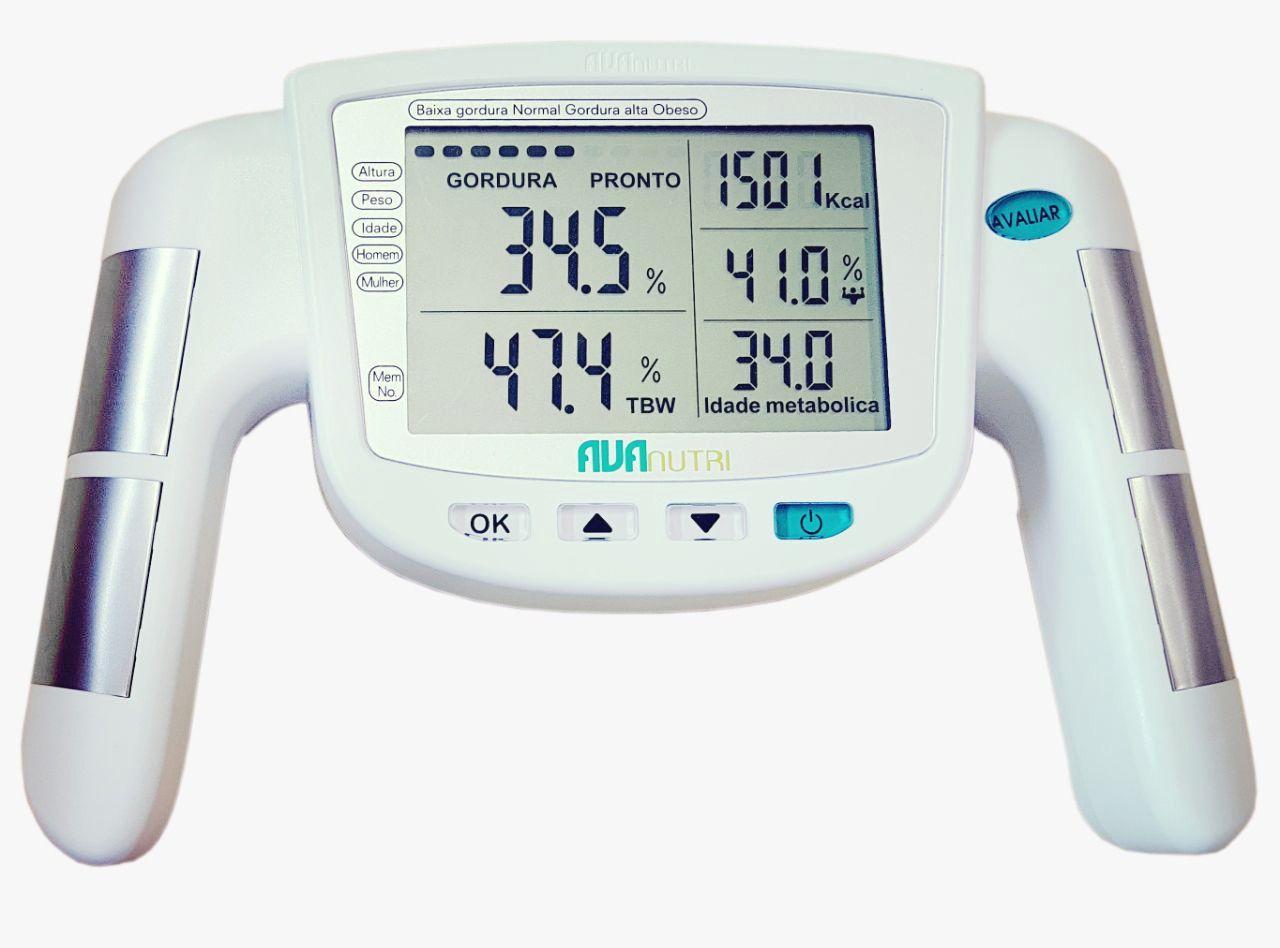 Monitor/ Analisador de Gordura por Bioimpedância Mod.i AVA-030 - Avanutri