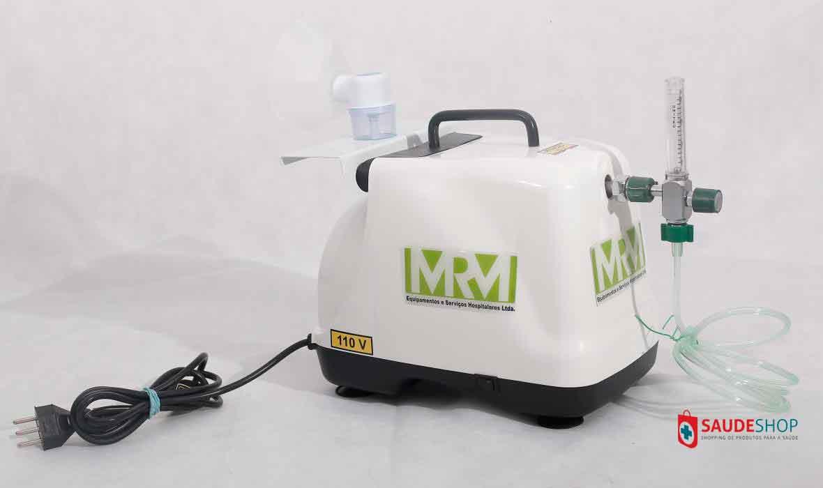Inalador/Nebulizador Portátil Mod. MRM-100 - 1 Saída - Inalovida