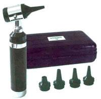 Otoscopio TK completo com 5 especulos diferentes calibres e Estojo 7- Missouri