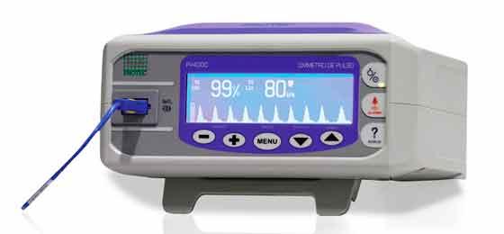 Oxímetro com Curva Pletismográfica PV4000 - Baixa Perfusão - Protec