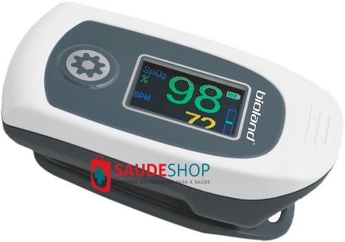 Oximetro de Dedo OLED  - Mod. AT101C - Bioland