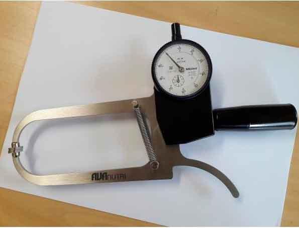 Plicômetro /  Adipômetro Científico Premium AVANUTRI