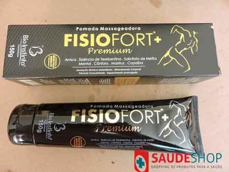 Pomada Fisiofort Premium com 150 Gramas