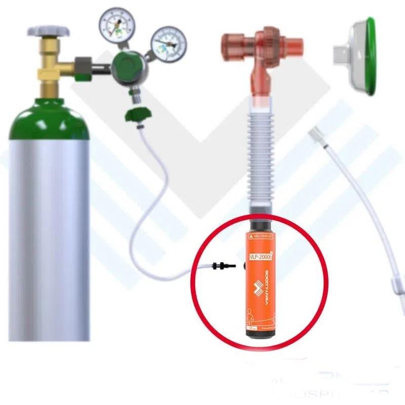 Respirador / Ventilador Pulmonar VLP-2000E UP Ventlogos