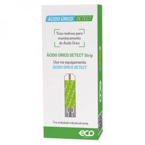 Tiras para Teste Ácido Úrico Detect Autoteste TD-4141 Strip cx c/25 - Eco Diagnóstica
