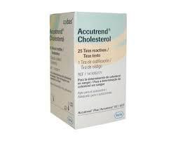 Tiras para teste de colesterol para aparelho Accutrend Plus – Roche
