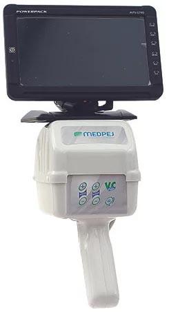 Video Colposcópio Aumento Variável de 8 à 30 vezes através de zoom ótico motorizado com Braço Articulado e rodizios PE-7000 Z - BR - Medpej