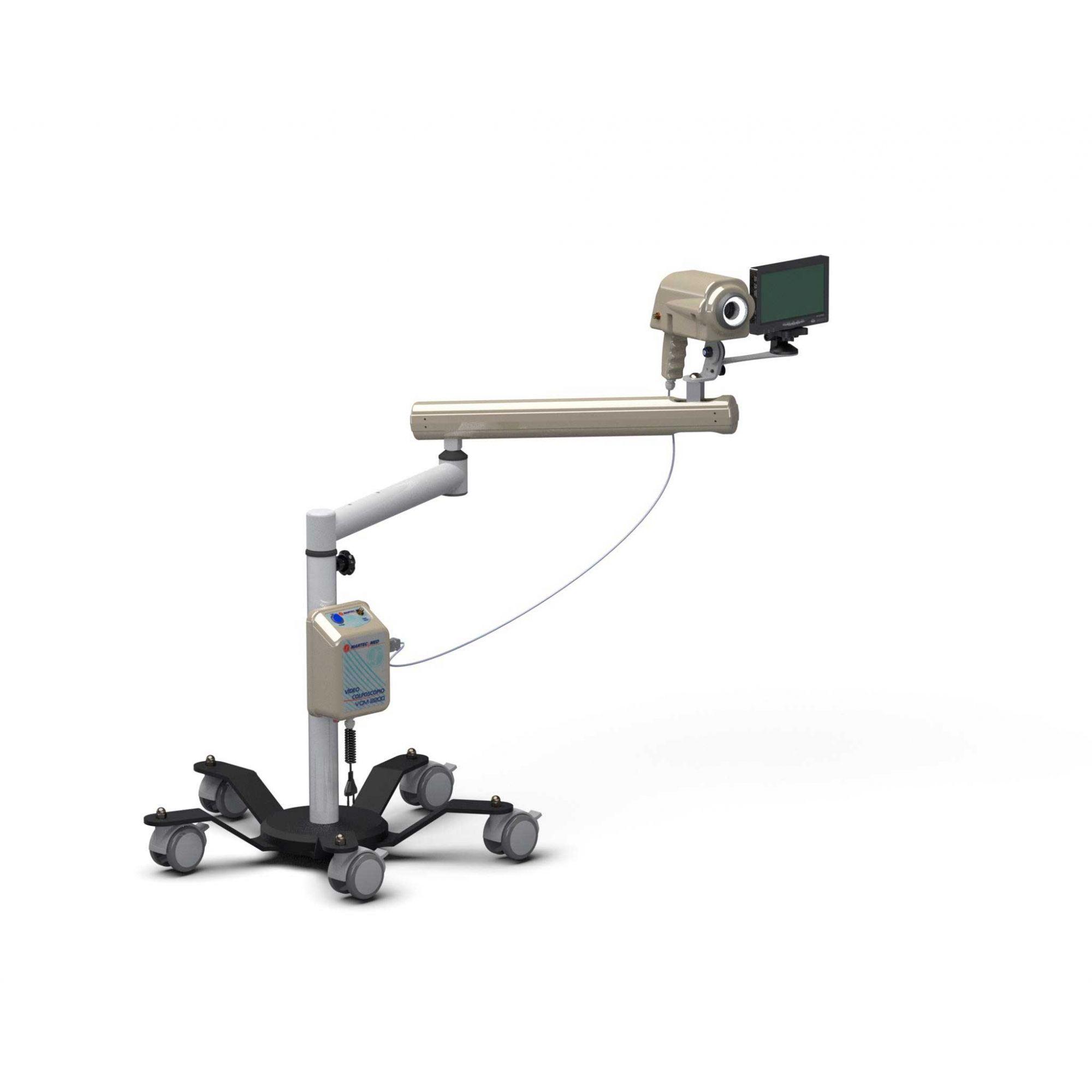 Videocolposcopio (acompanha monitor 7') c/Braço – Modelo VCM2200 B – Martec