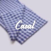 Calça de Pijama Viking - Azul - Casal