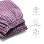 Calça de Pijama Viking - Vichy - Casal