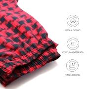Calça de Pijama Viking - Vermelha - Casal