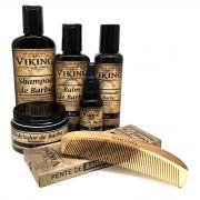 Kit de Barba -  Premium - Mar - Viking