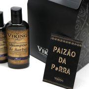 Kit Paizão Barbudo - Mar - Dia dos Pais Viking