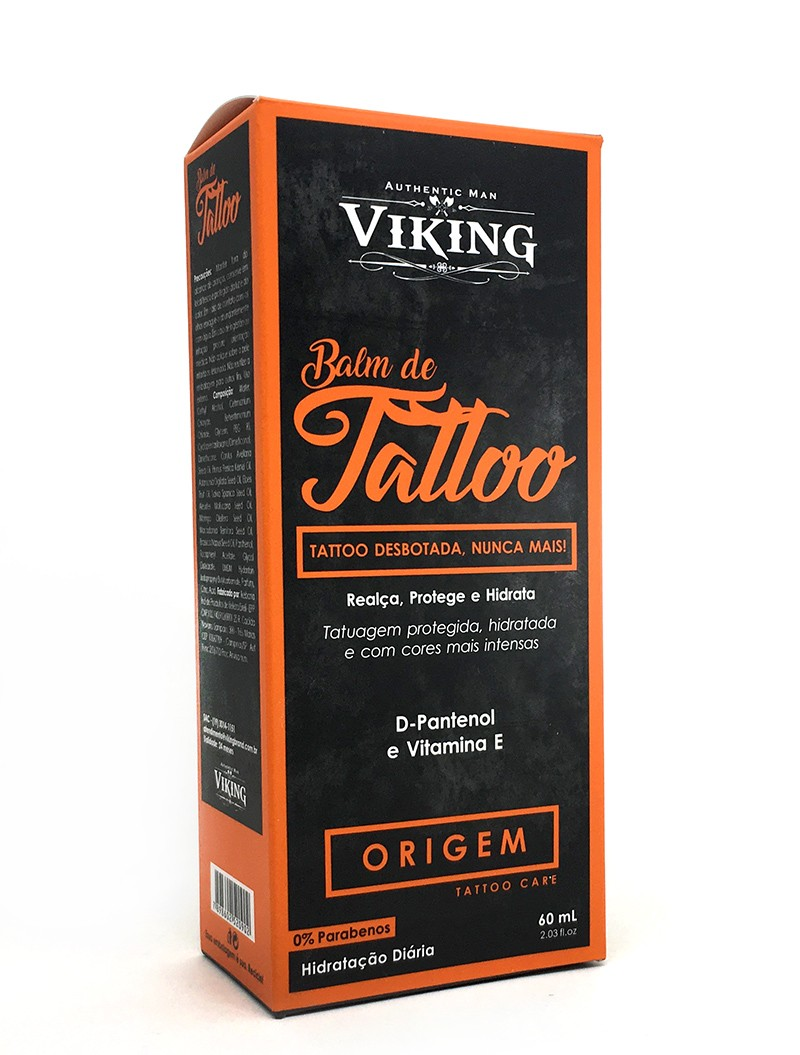 Balm de Tattoo - Origem - Viking 60 mL  - Viking