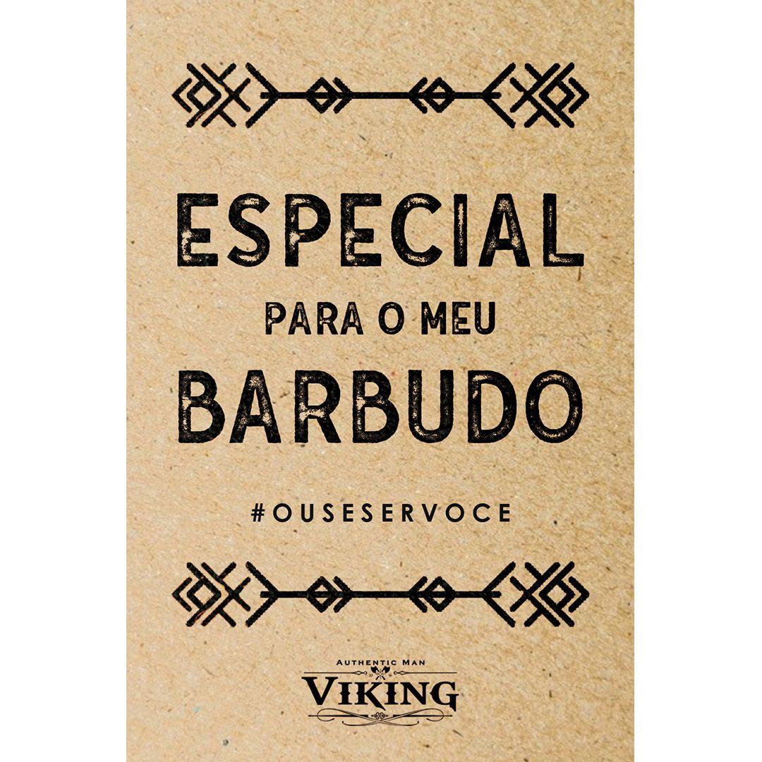 Cartão de Presente - Especial Para o Meu Barbudo - Viking  - Viking