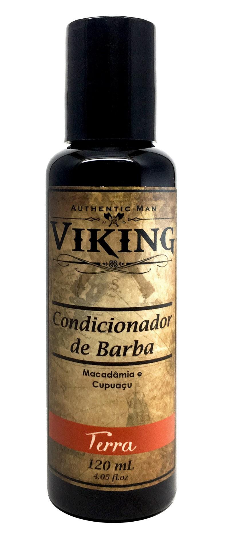 Condicionador de Barba - Terra - Viking 120 mL  - Viking