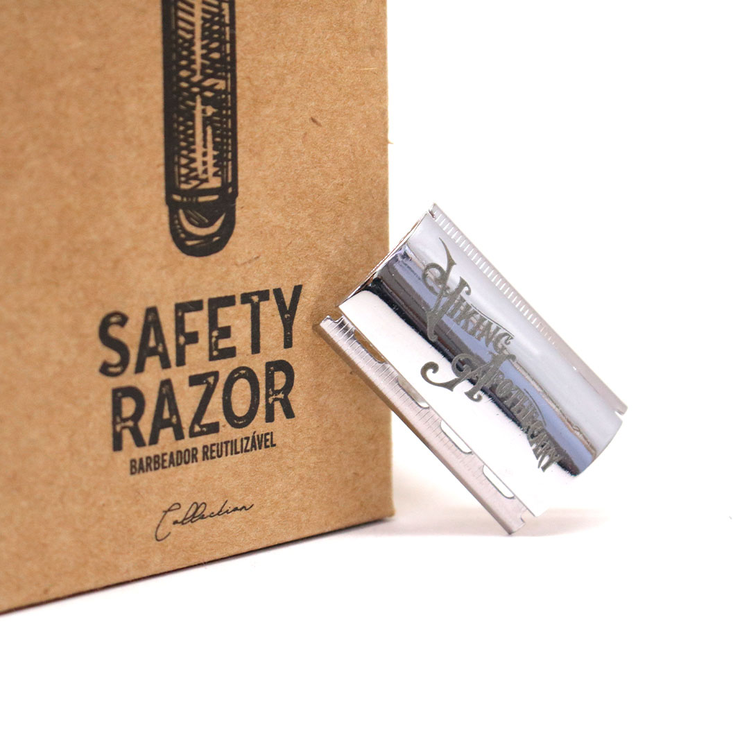 Kit Barbeador Classic - Safety Razor - Viking Apothecary  - Viking