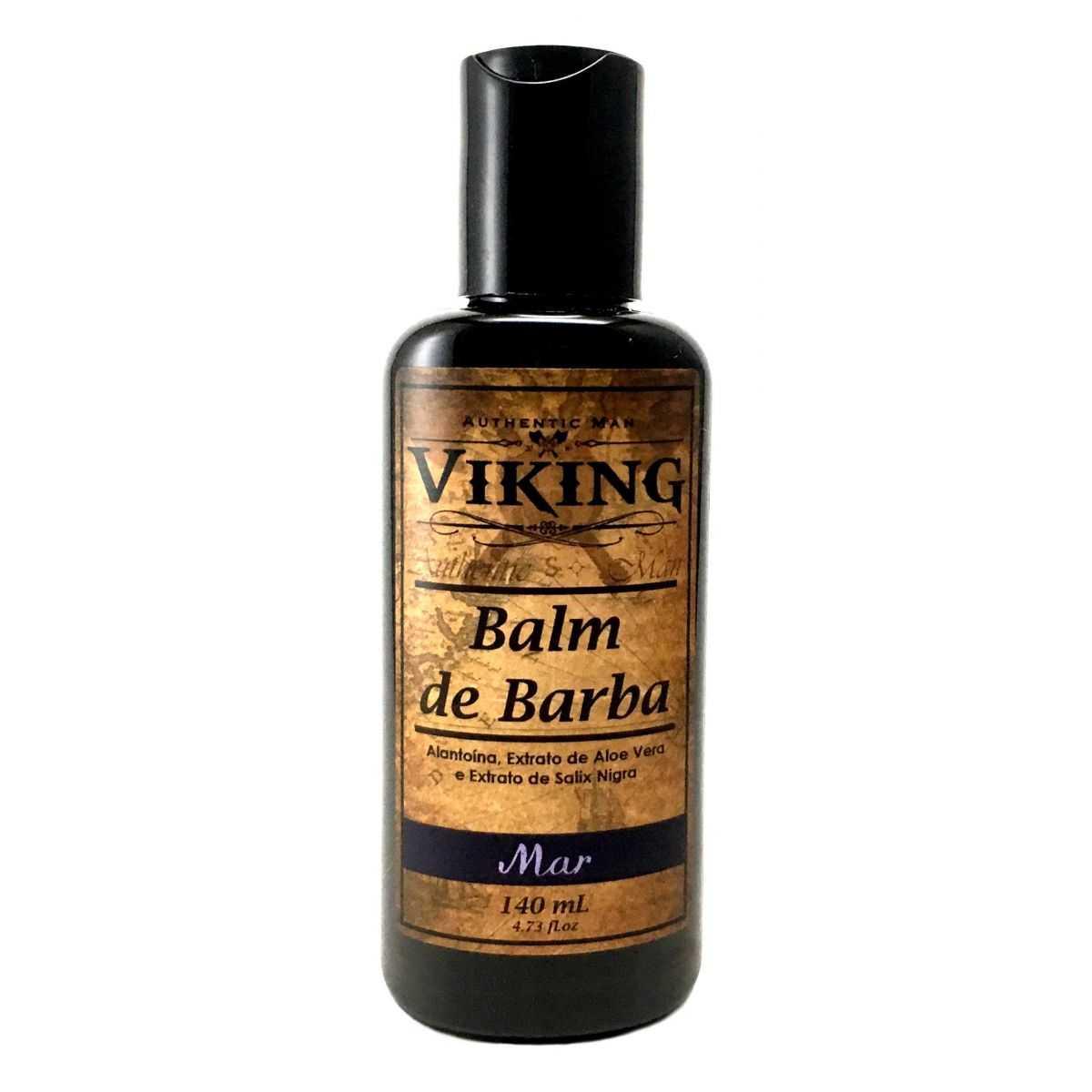 Kit de Barba - Linha Mar com Pente Curvo - Viking  - Viking