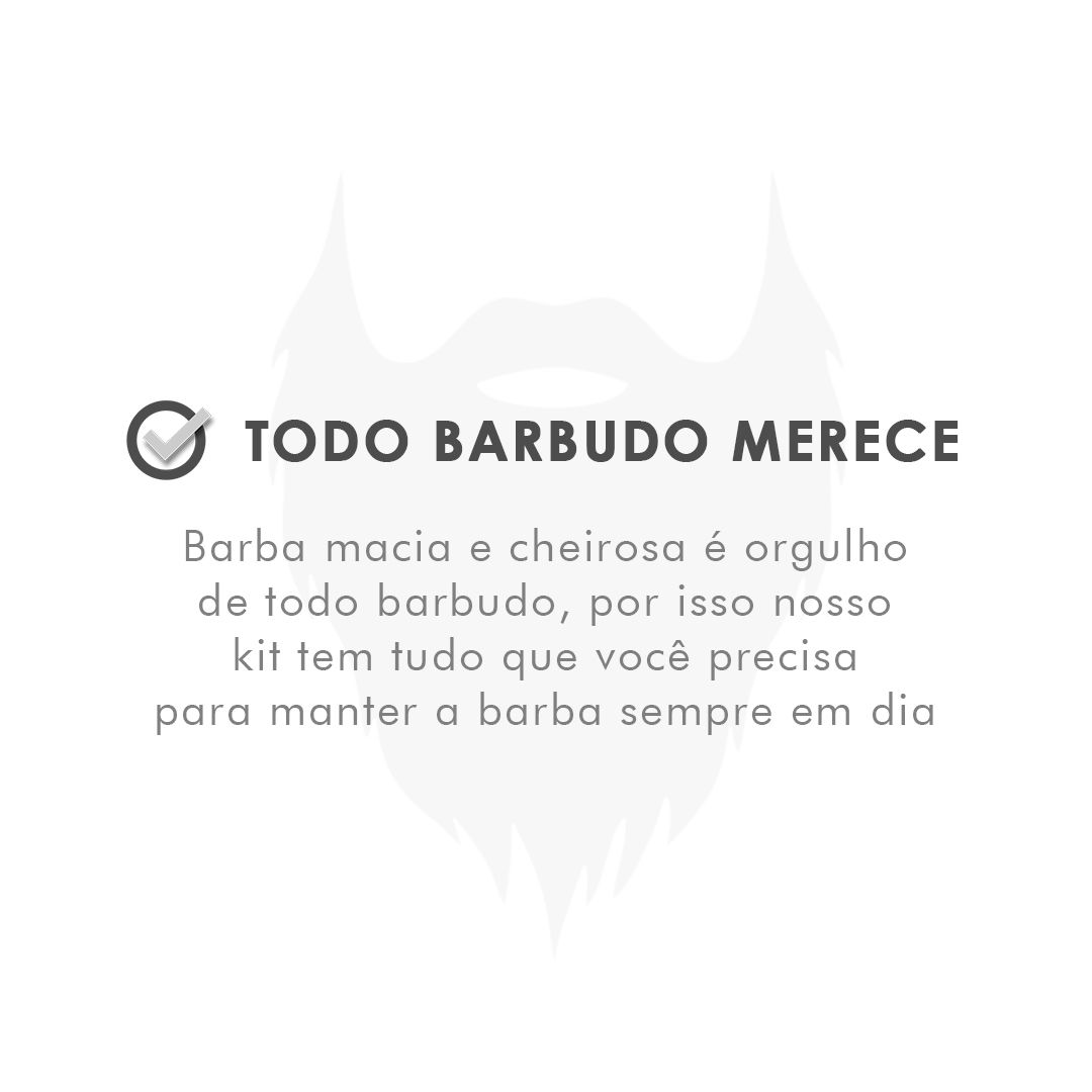 Kit de Barba - Shampoo e Balm - Mar - Viking  - Viking
