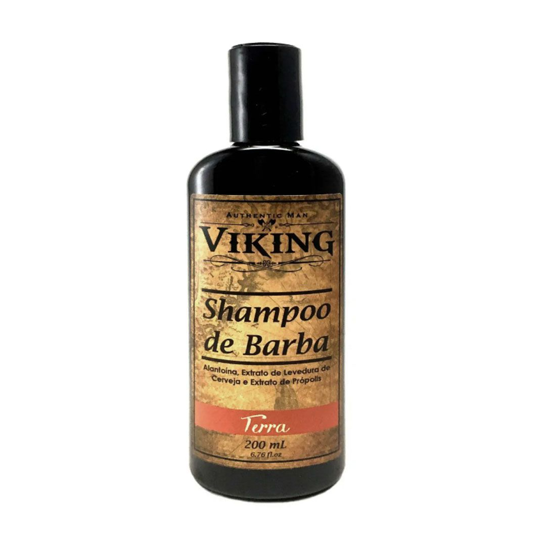 Kit Meu Barbudo - Terra   - Viking