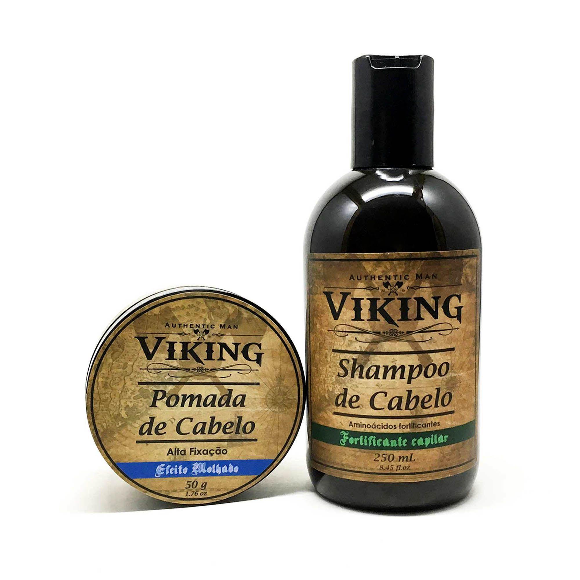 Kit para Cabelo - Glow Water - Viking  - Viking