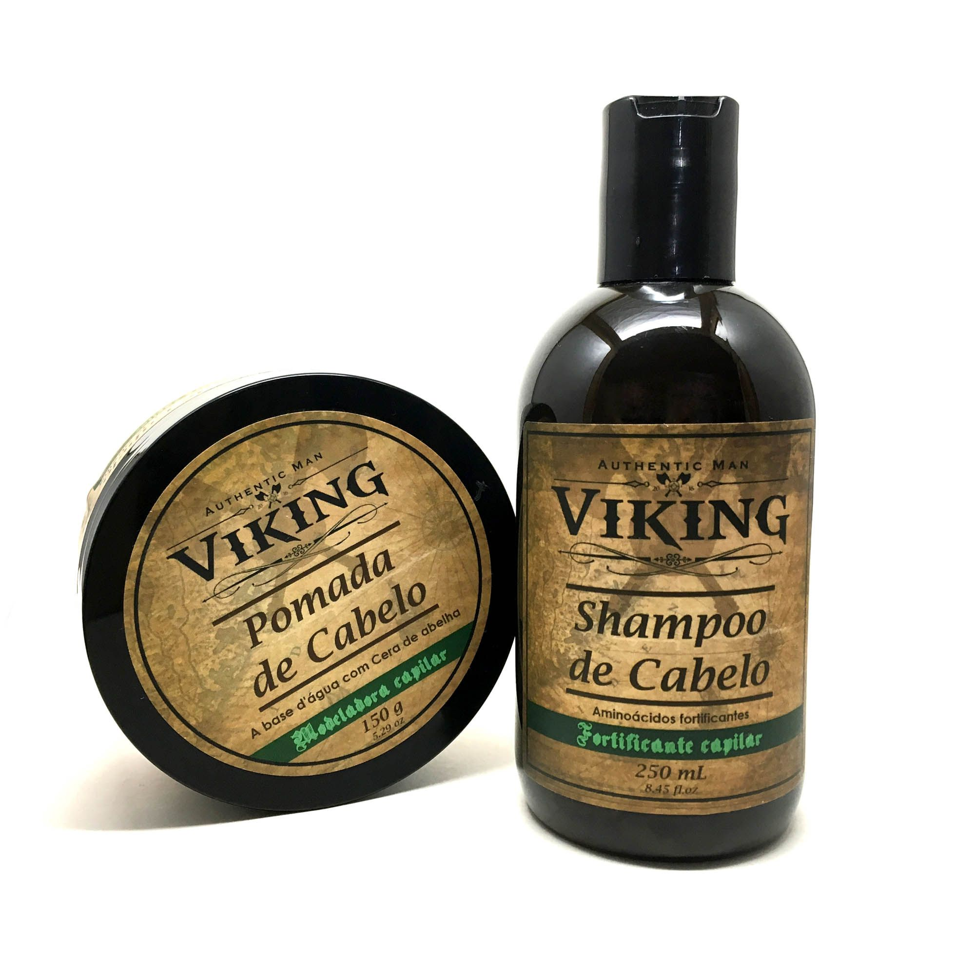 Kit para Cabelo - Green Action - Viking  - Viking