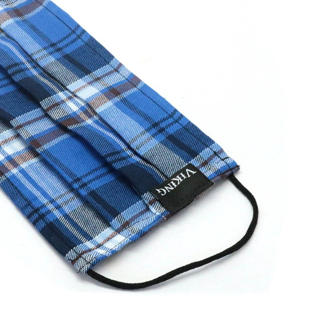 Máscara Reutilizável - Azul escocês  - Elástico SLIM  - Viking