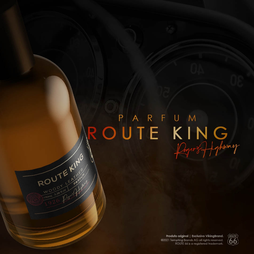 Parfum – Route King - Route 66  VikingBrand  Perfume Masculino   100 mL  - Viking