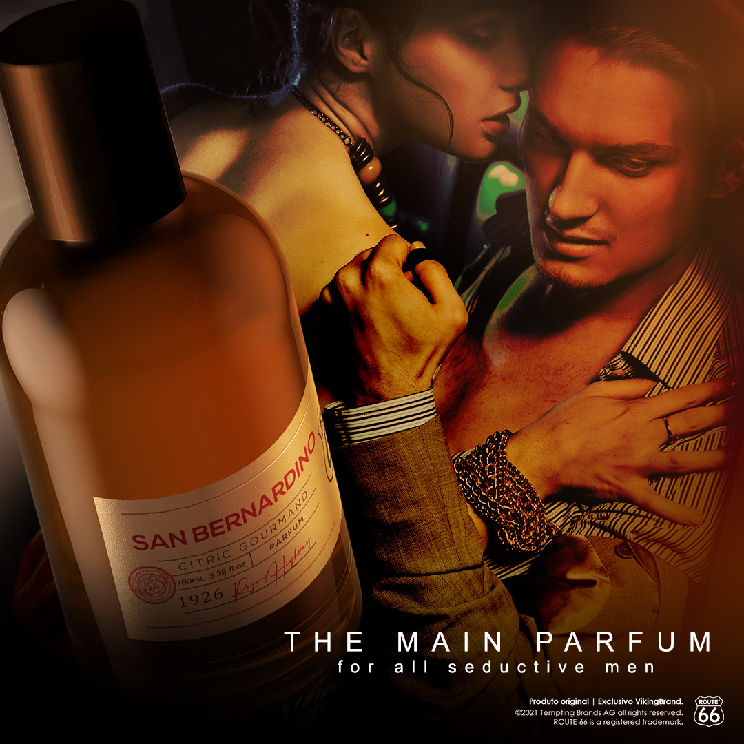 Parfum – San Bernardino - Route 66 |VikingBrand| Perfume Masculino | 100 mL  - Viking
