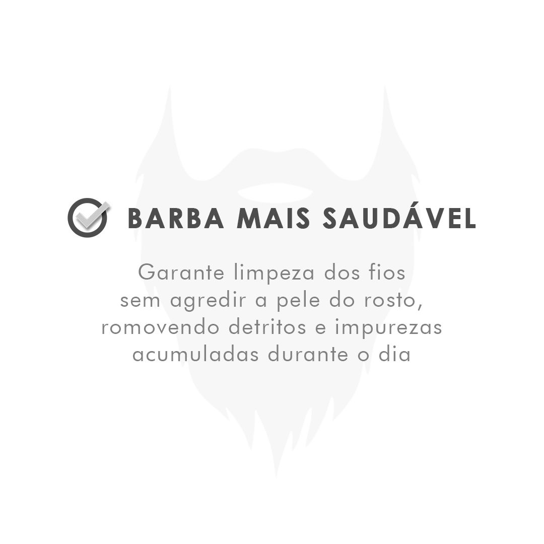 Shampoo de Barba - Mar - Viking 200 mL - Viking