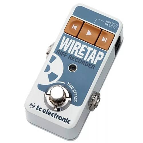 Pedal Looper Tc Electronic Wiretap Riff Recorder