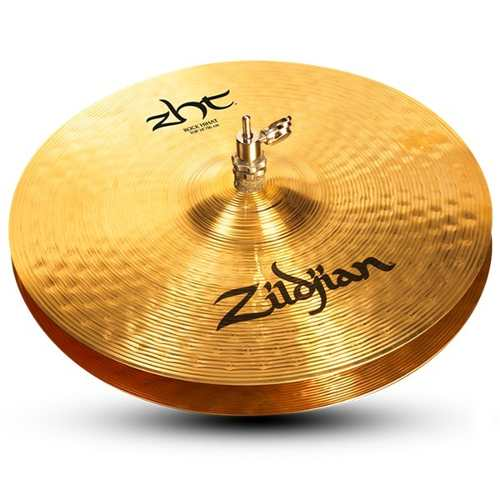 Prato Zildjian Zht 14 Zht14rthb Rock Hi Hats Chimbal B12 Nfe