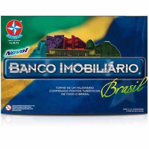 Banco Imobiliário Brasil - Estrela