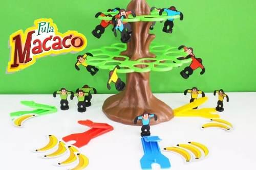Jogo Pula Macaco Na Arvore Com Banana Estrela - Promoção
