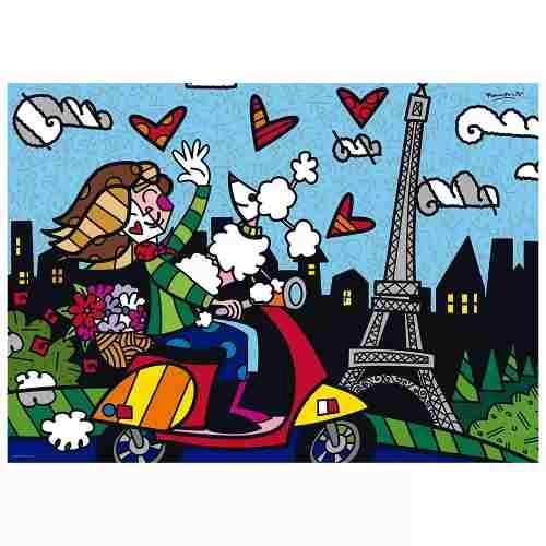 Puzzle 1000 Peças Romero Britto - Paris Grow