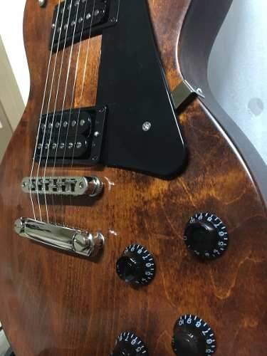 Guitarra Gibson Les Paul Studio Faded 2018 Worn Bourbon