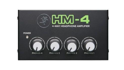 Hm4 Amplificador De Fones De Ouvido Mackie