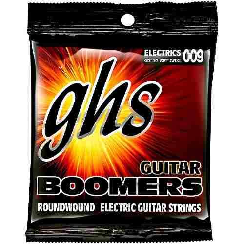 Jogo De Cordas P/ Guitarra 09 Ghs Boomers Gbxl (1ª Mi Extra)