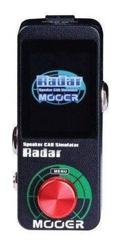 Pedal Simulador De Gabinete Mooer Radar Ms1 + Original + Nfe