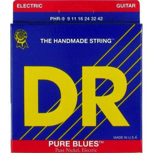 Corda Para Guitarra Dr Pure Blues 09-42 The Handmade Strings