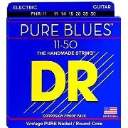 Corda Para Guitarra Dr Pure Blues 11-50 The Handmade Strings