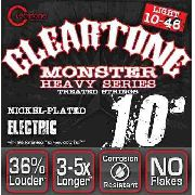 Encordoamento Guitarra Cleartone Monster Heavy Light 10/46