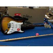 Guitarra Fender Squier Bullet Stratocaster Hss Sunburst + Nf