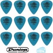 12 Palhetas Tortex 1mm Azul Dunlop - 15466