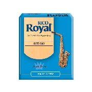 Caixa Com 10 Palhetas P/ Sax Alto Rico Royal Rjb1010 1,0