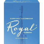 Palhetas Rico Royal P/ Sax Soprano Nº 2,0 (10 Unidades)