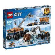 Lego 60195 City Base De Exploração Móvel Do Ártico Original