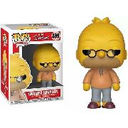 Boneco The Simpsons Grampa Simpson Pop Funko 499