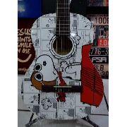 Phx Violão Clássico Snoopy Aviador Vsa1 Original + Frete
